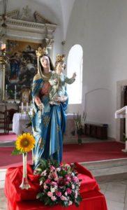Gospa Karmelska kip 2