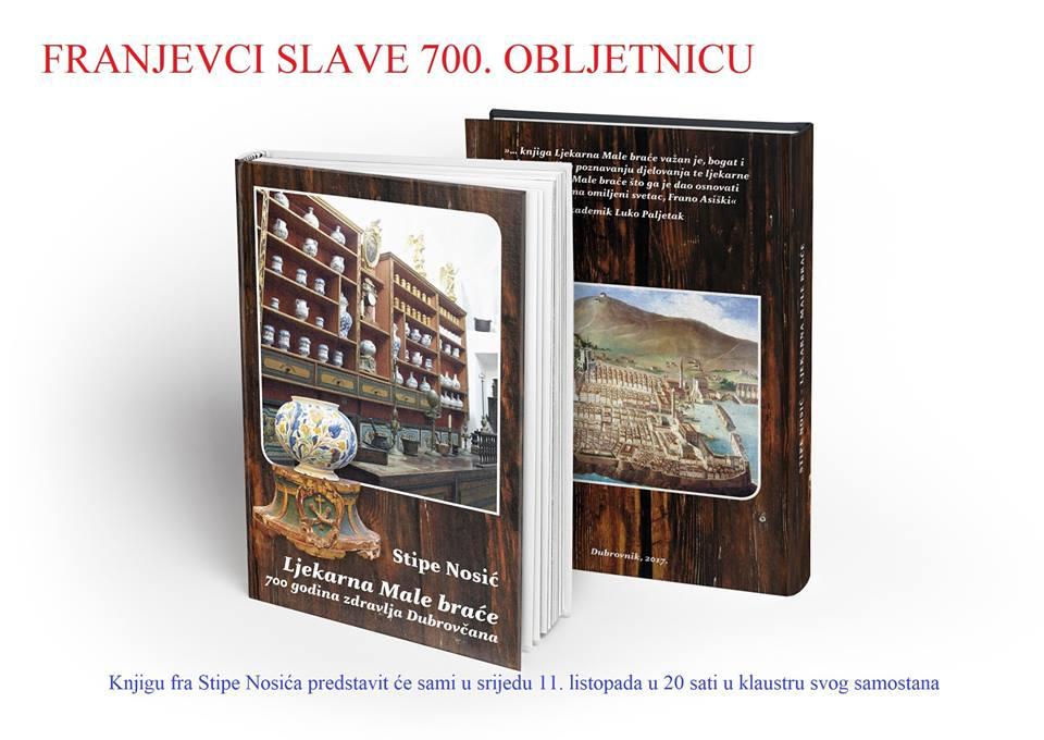 Ljekarna Male braće  700 godina zdravlja Dubrovčana  Predstavljanje knjige