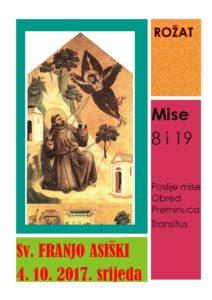 Sveti Frane fra Josip Sopta