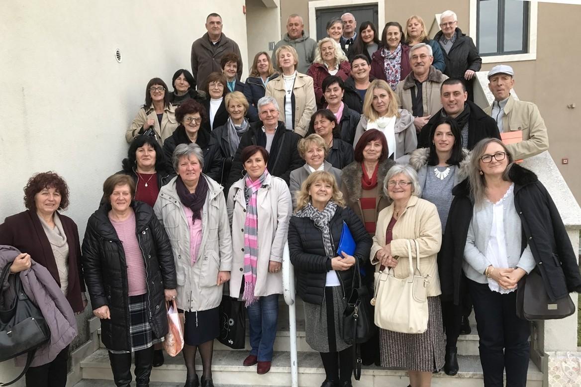 """Mjesno bratstvo """"Marijina Pohođenja"""" Rožat i ostala bratstva u Splitu"""