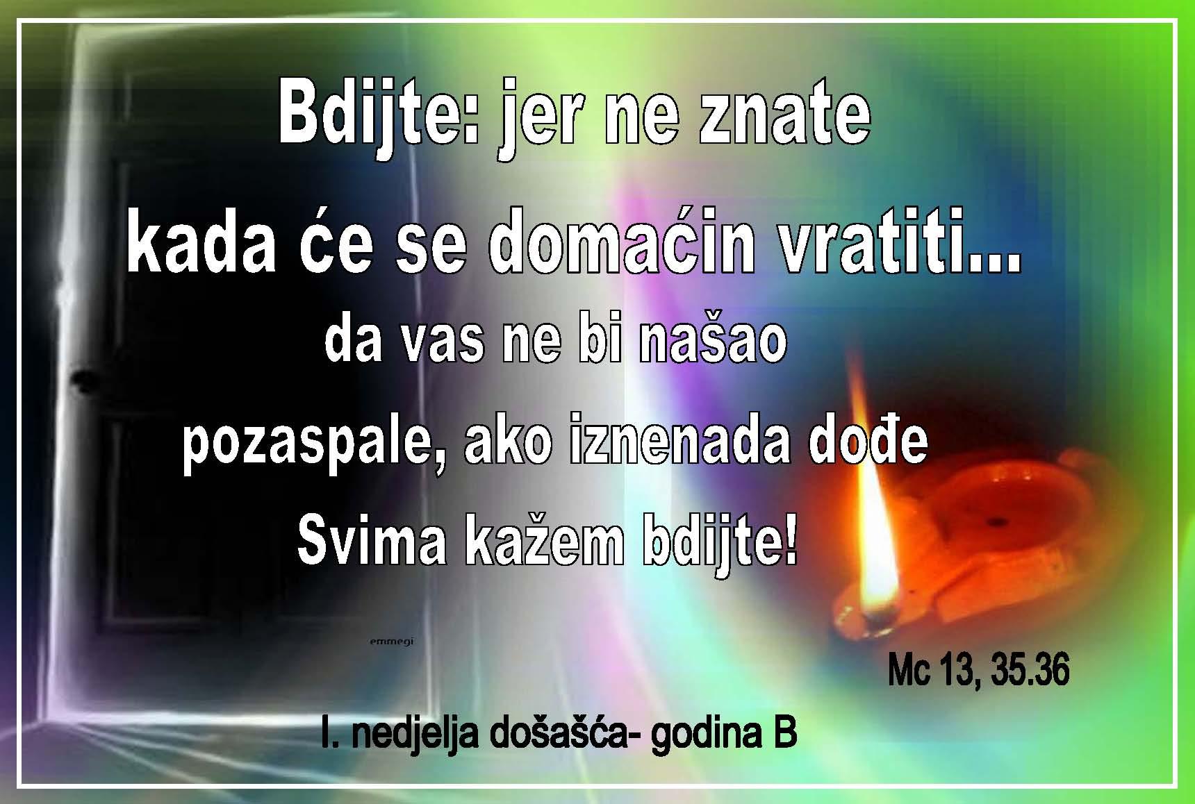 I. DOŠAŠĆA godina B 2017. i 2018.