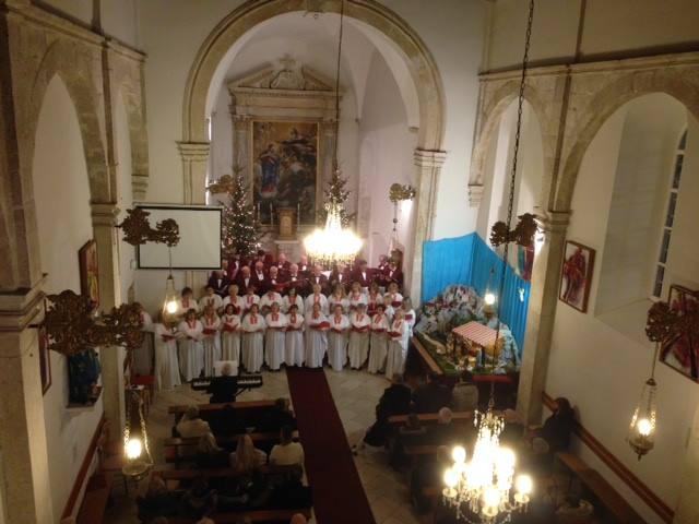 Božićni koncert ZBORA LIBERTAS u Rožatu, 6. I. 2018.