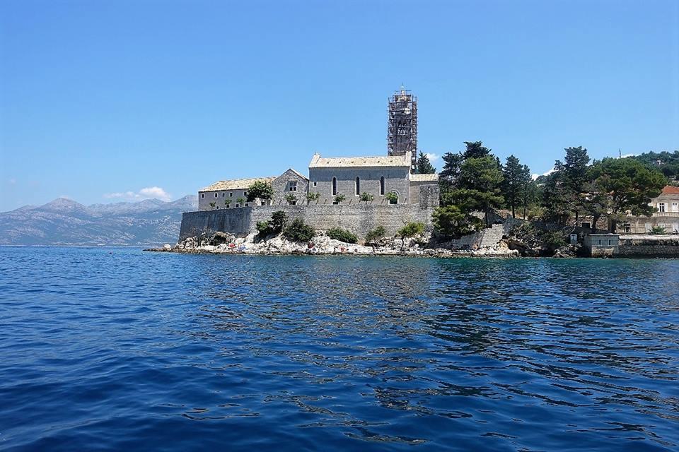 Proslava obnove franjevačkoga samostana Rođenja B. D. Marije na Lopudu Fra Josip Sopta
