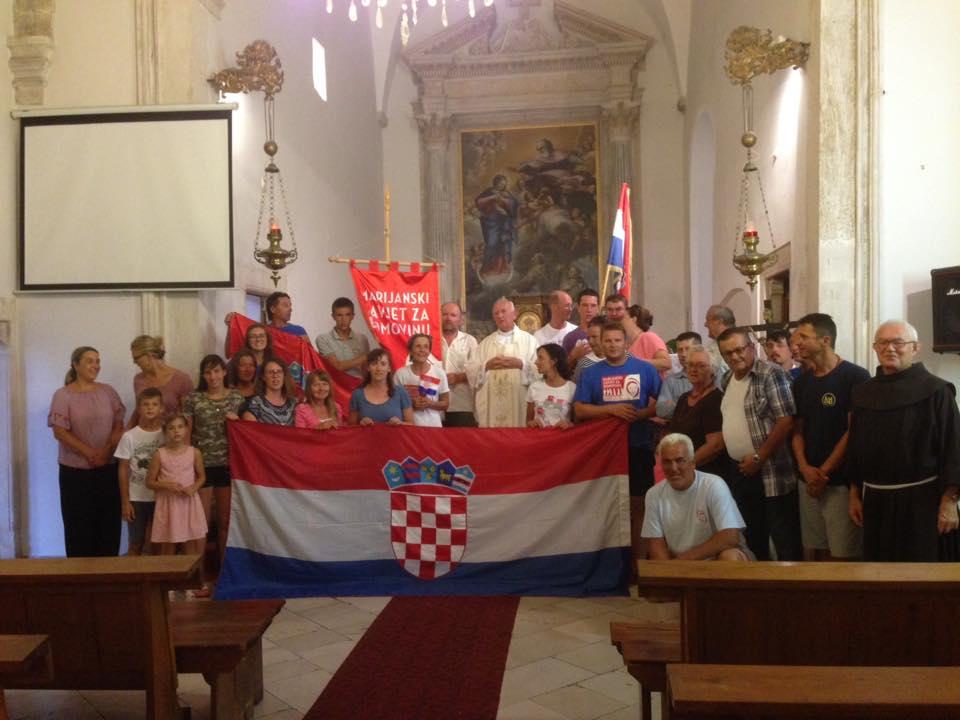 HODOČASNICI MARIJANSKOG ZAVJETA ODSJELI U ROŽATU, 21 VIII. 2018