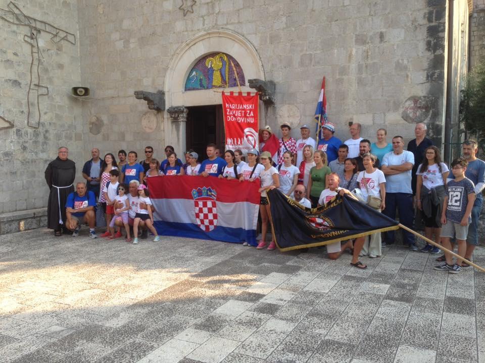 """Četvrti """"Marijanski zavjet za domovinu"""" završio dolaskom u Dubrovnik i misom zahvalnicom"""