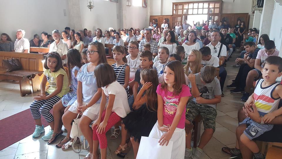 Početak školske godine u župi Rožat, 9. rujna 2018.