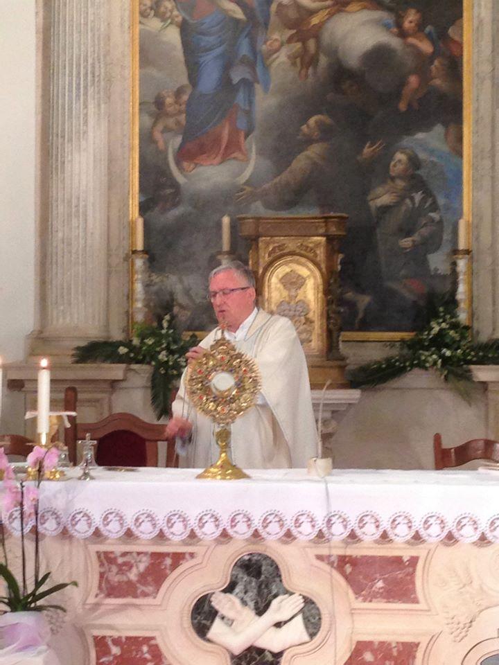 Rožat, 24. travnja 2020. Misa i molitva za ozdravljenje po zagovoru sv. Franje