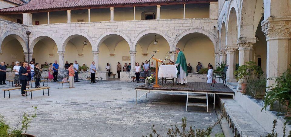 Rožat, 6. rujna 2020. Mise u Samostanu i na Matici